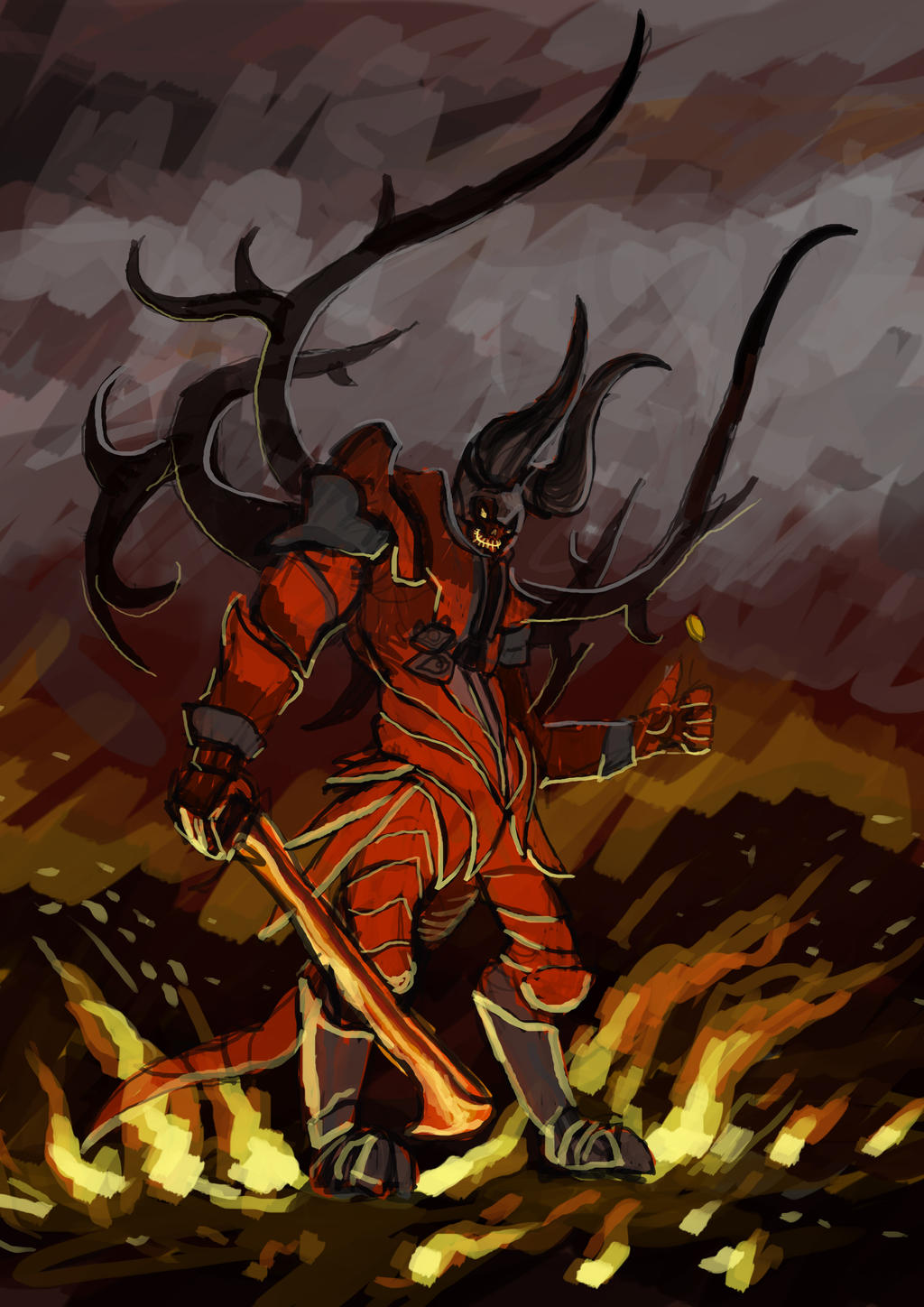 doom dota 2 by nezermoar on deviantart
