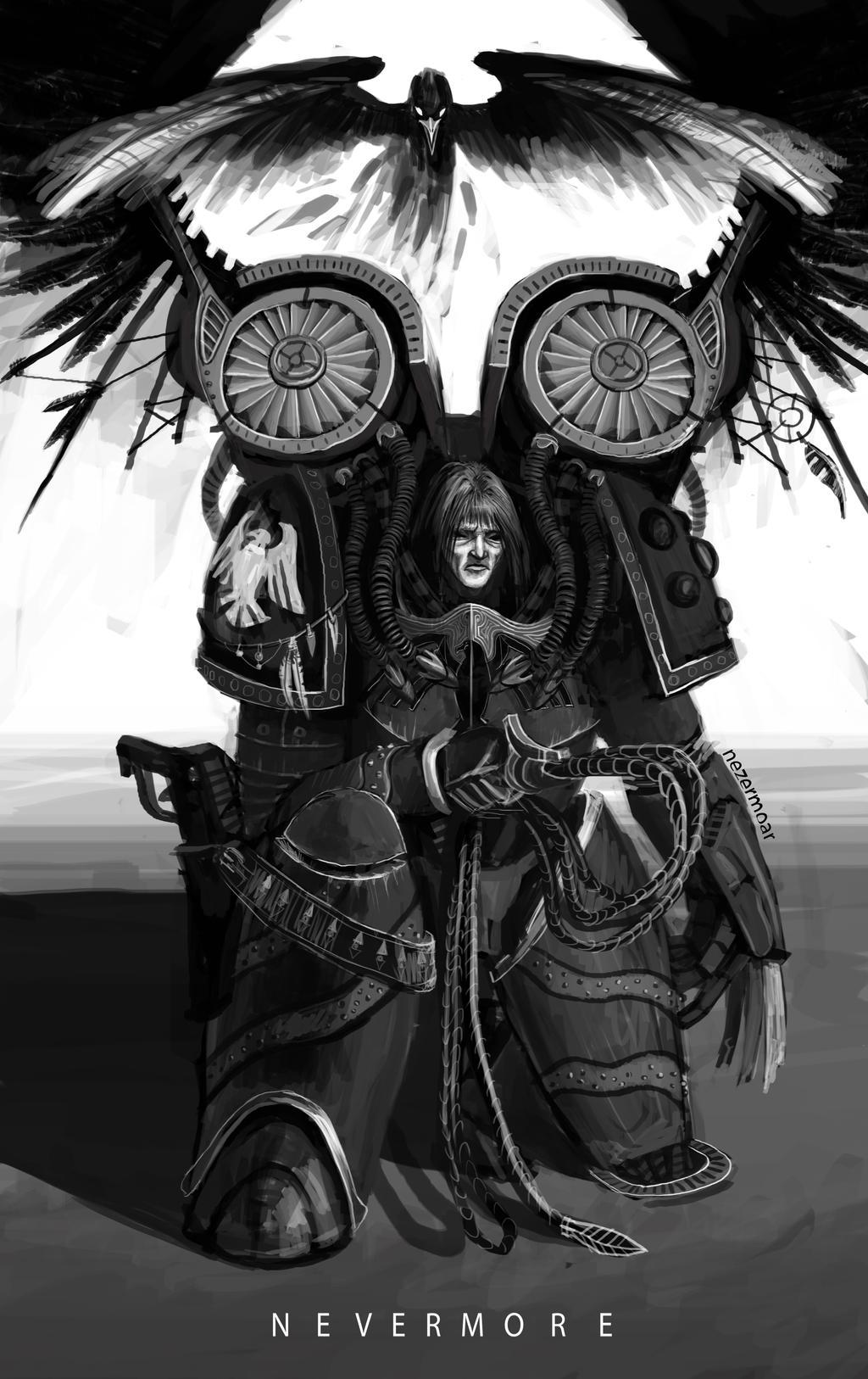 Corvus Corax, Primarch of the Raven Guard Legion