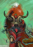 Magnus the Red , the Primarch of the Thousand Sons
