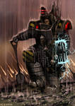 Perturabo, the Primarch of the Iron Warriors
