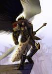 Sanguinius, the Primarch of the Blood Angels
