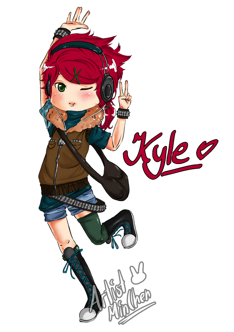 Here comes Kyle by ArtistMinChen