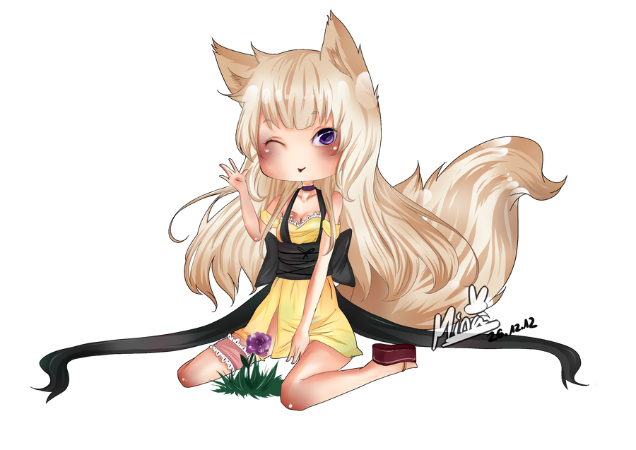 [Commission] Konekoalice: Morihime by ArtistMinChen