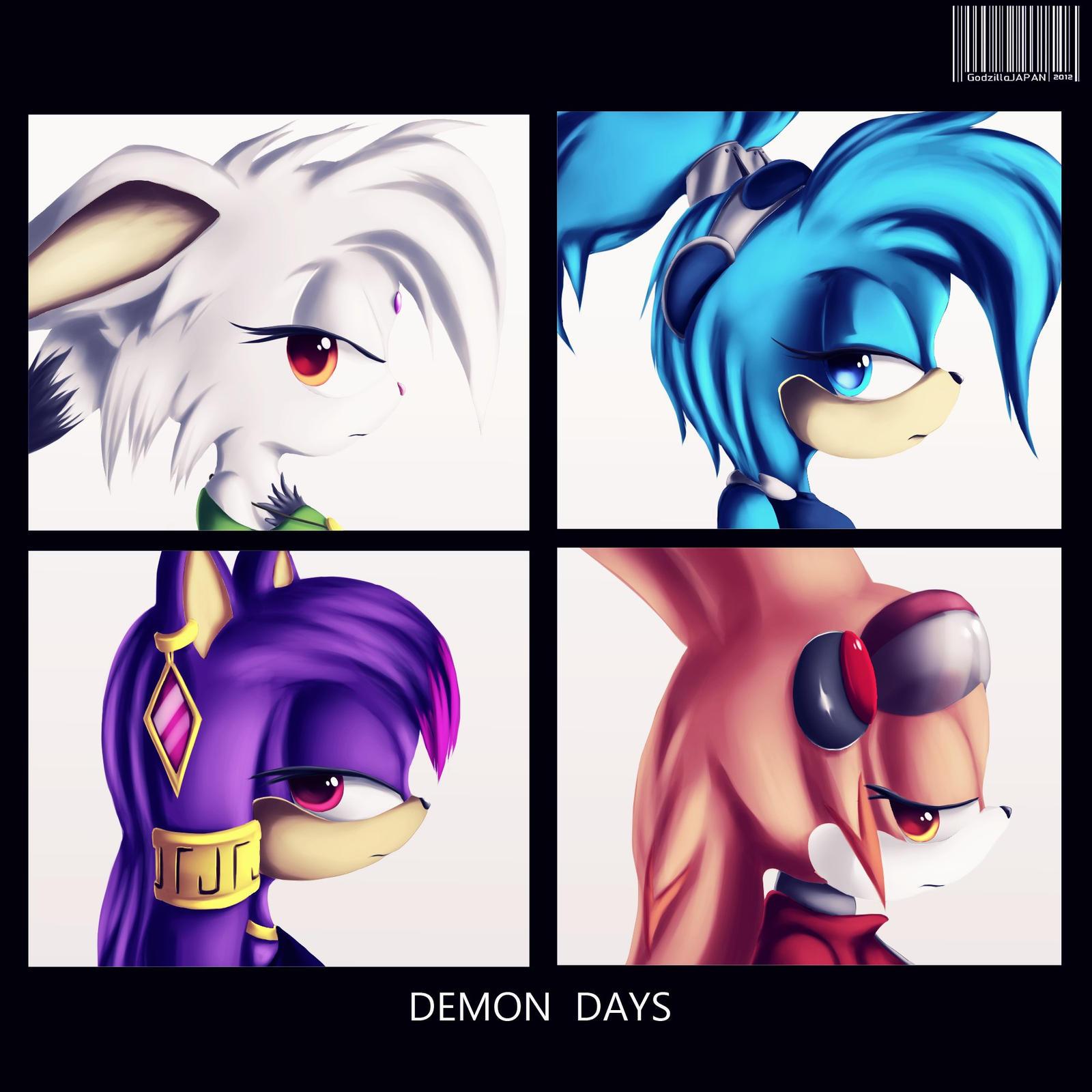 Demon Days by GodzillaJAPAN