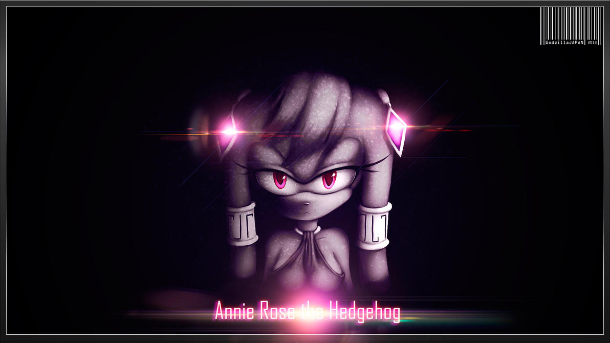 GIFT: ANNIE ROSE THE HEDGEHOG by GodzillaJAPAN