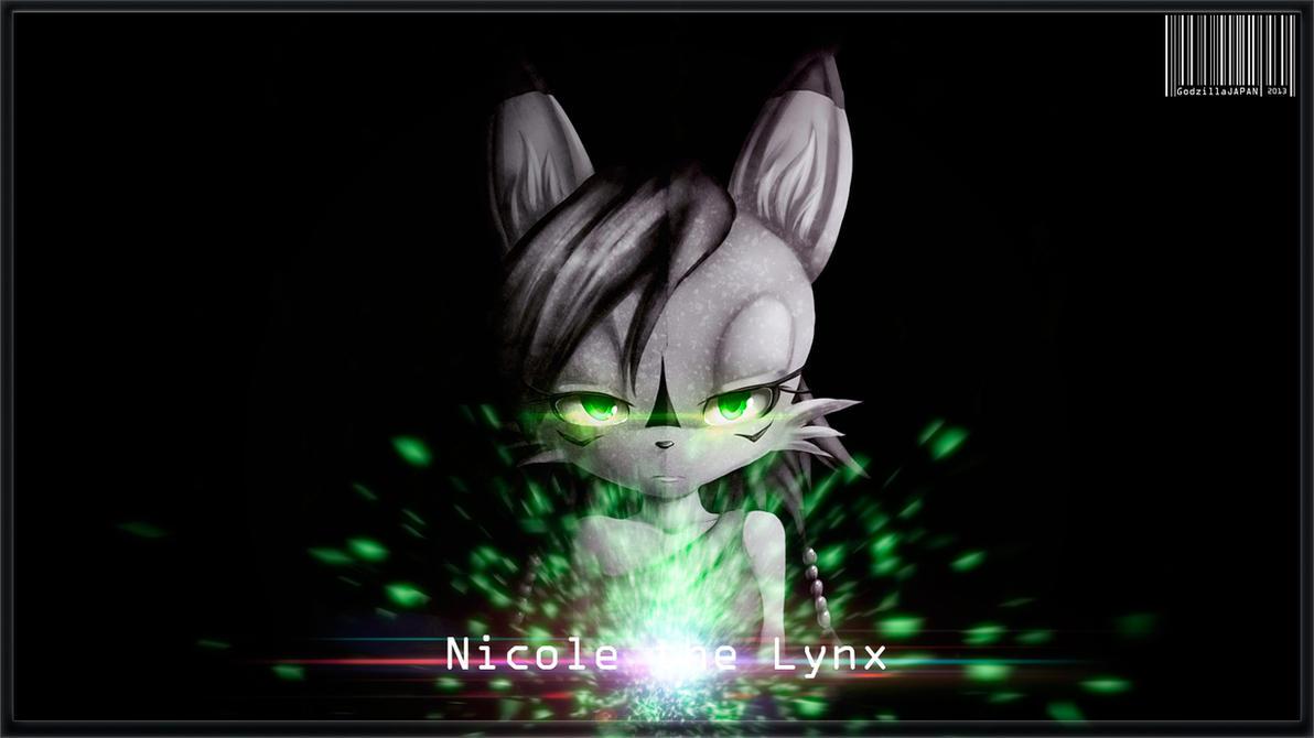 NICOLE THE LYNX by GodzillaJAPAN