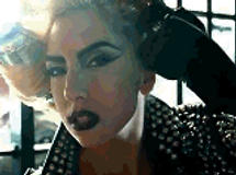Lady Gaga Comb Hair Gif by MegaPaperGirl