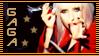 Gaga BDR Still Stamp 002 by MegaPaperGirl