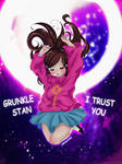 Grunkle Stan, I Trust You (Mabel Pines)