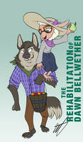 Dawn Bellwether and Vernon Hunter