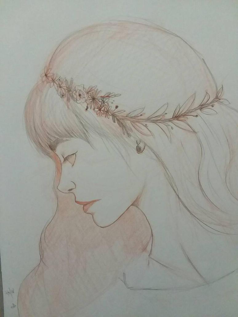 Flower Girl  by Flannel-Shirt-Girl