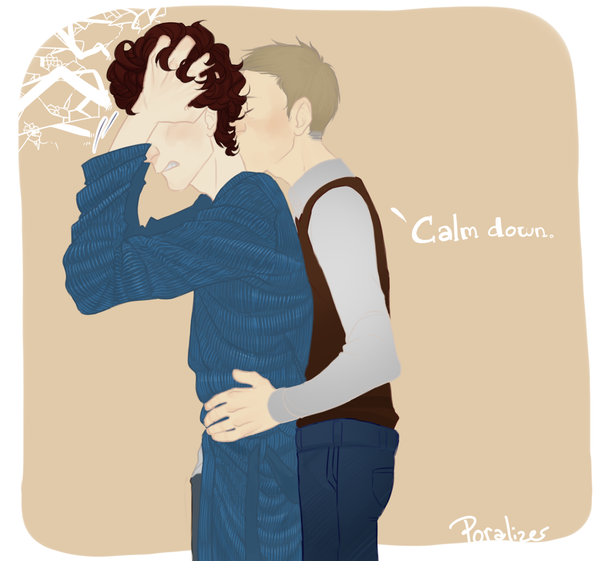 Tumblr req - Sherlock and John by Poralizer