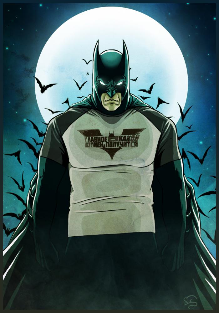 Batman by TovMauzer