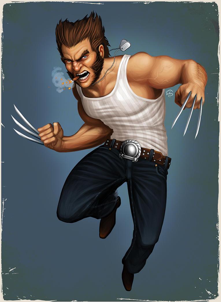 Wolverine by TovMauzer