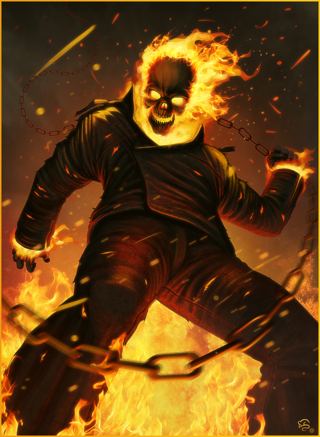 Ghost Rider by TovMauzer