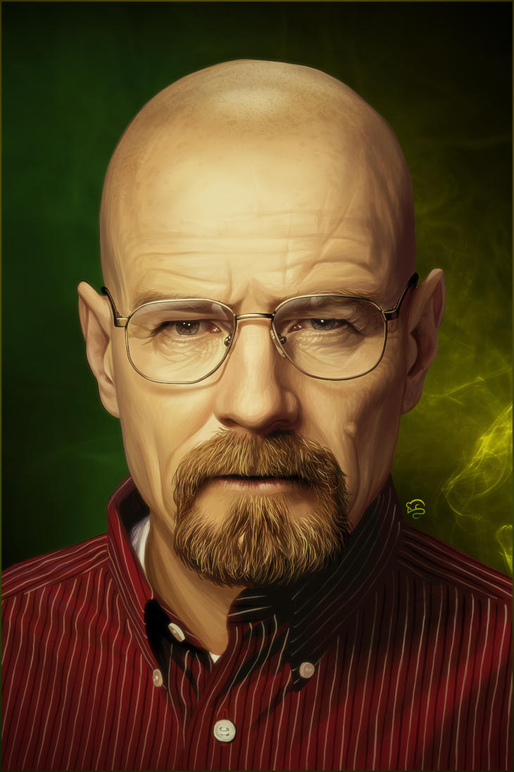 Walter White [Br]eaking [Ba]d by TovMauzer