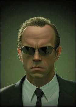 Agent Smith by TovMauzer