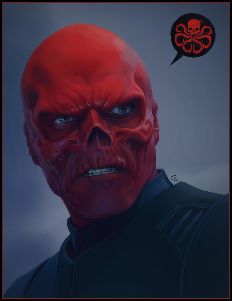 Red Skull By Tovmauzer On Deviantart