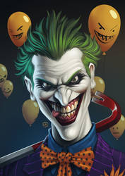 Joker's Halloween by TovMauzer