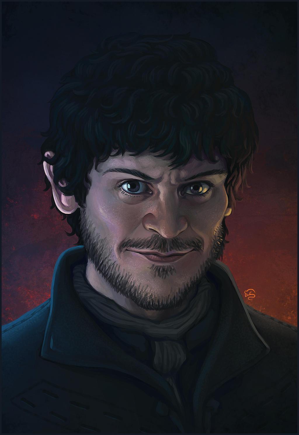 Ramsay Snow and His Daemon by LJ-Todd on DeviantArt  |Ramsay Snow Art
