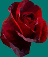 LowPoly Rose by EirikStrand1996