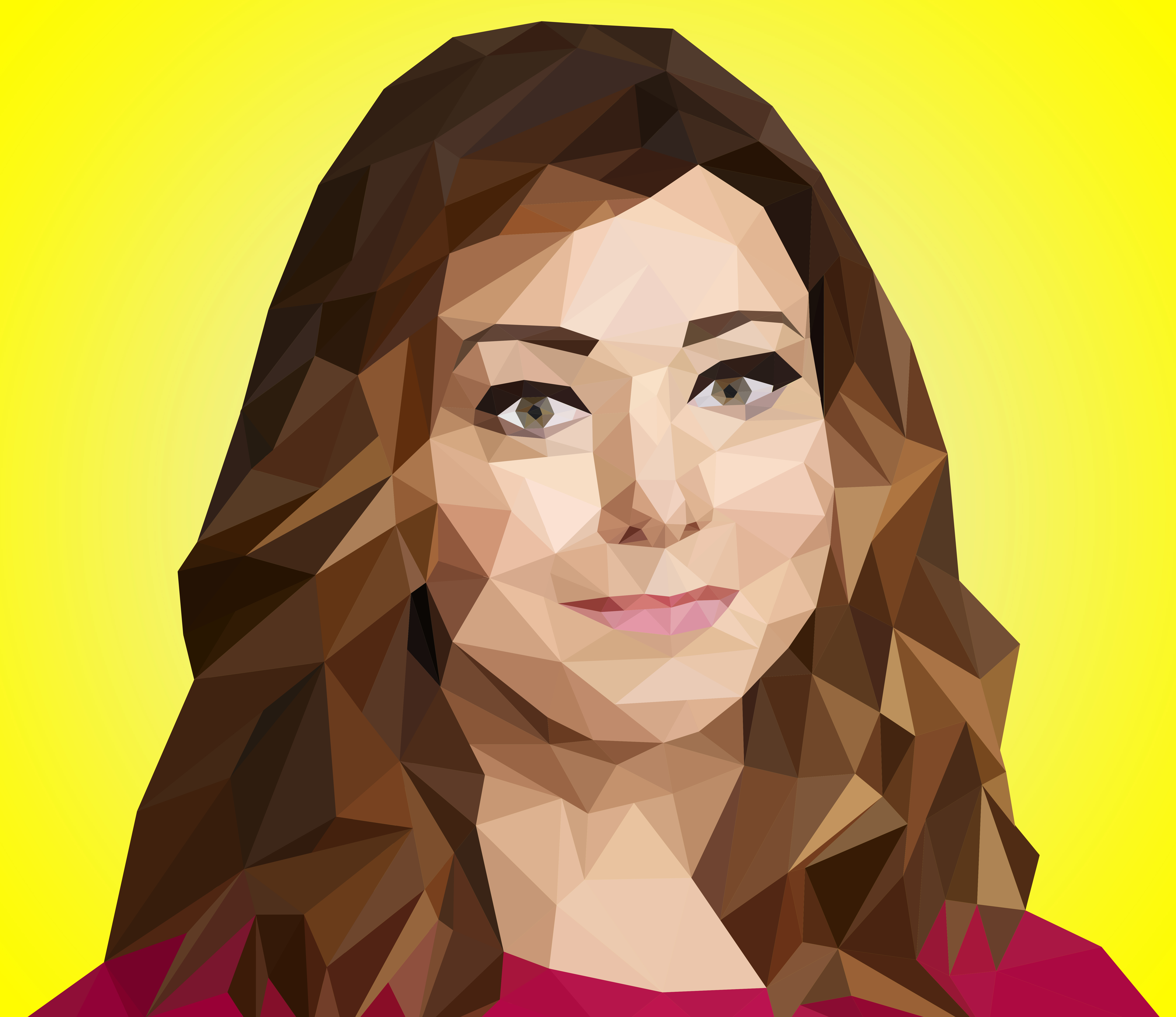 Lilly Aldrin from Himym in Low Poly by EirikStrand1996