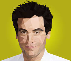 Ted Mosby | Josh Rander from HIMYM | LowPoly by EirikStrand1996