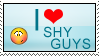 I love shy guys by Yasny-chanstamps