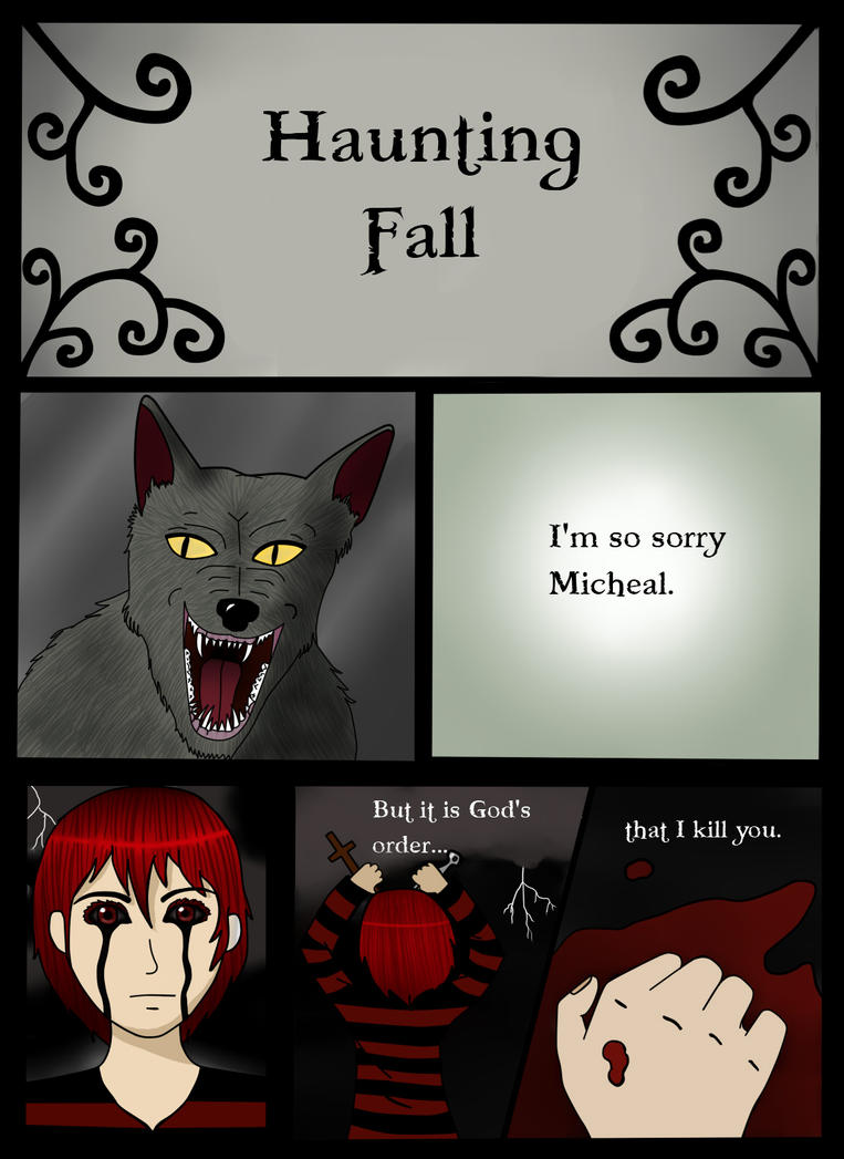 Haunting Fall Page 1 by TheAllKnowingDemon