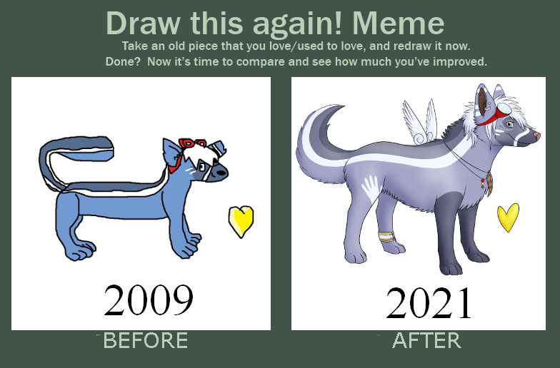 Draw This Again Meme: Avian Fanart