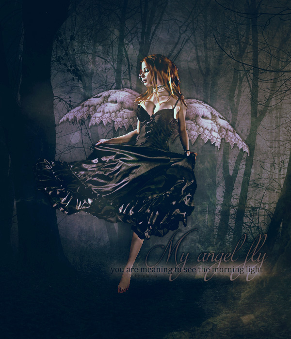 My Angel Fly by xmhessa