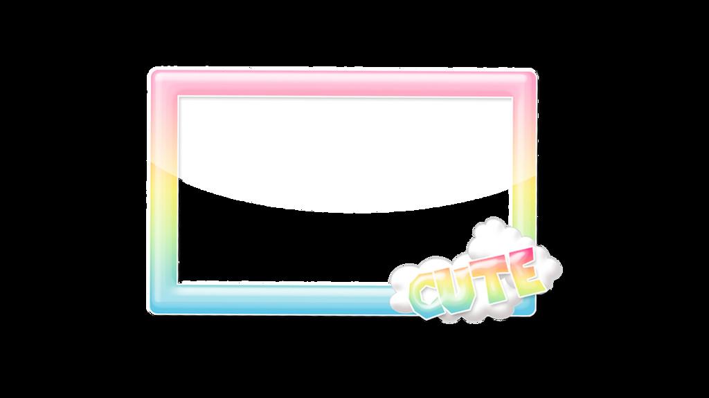Kawaii Rainbow Frame by CutieNova on DeviantArt