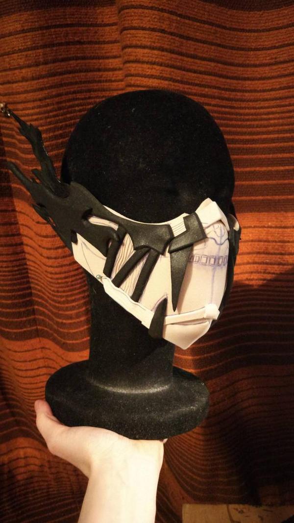 Code Vein Mask Process  by KrisKuz