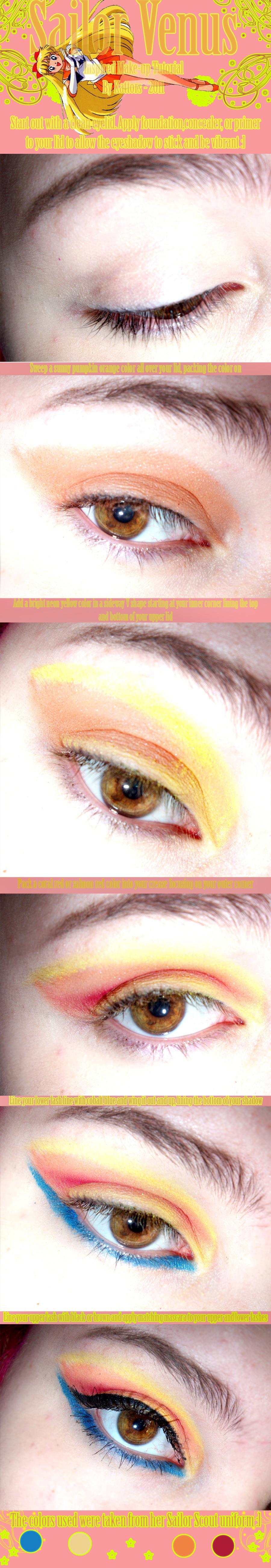 Sailor Venus Makeup Tutorial