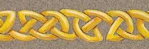 Golden Celtic Knots