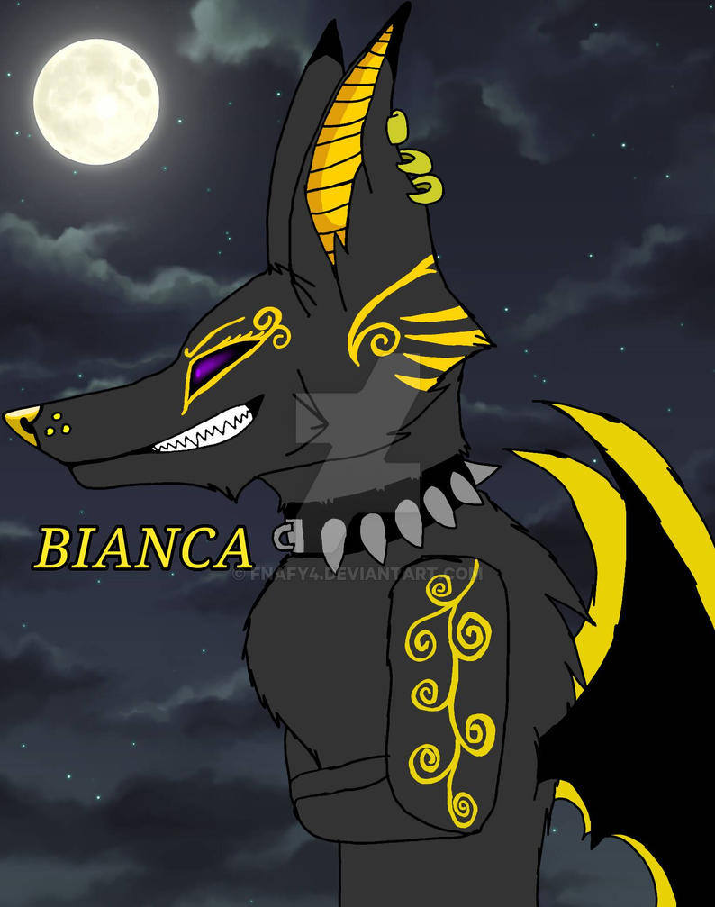 bianca's Egyptian form by fnafy4