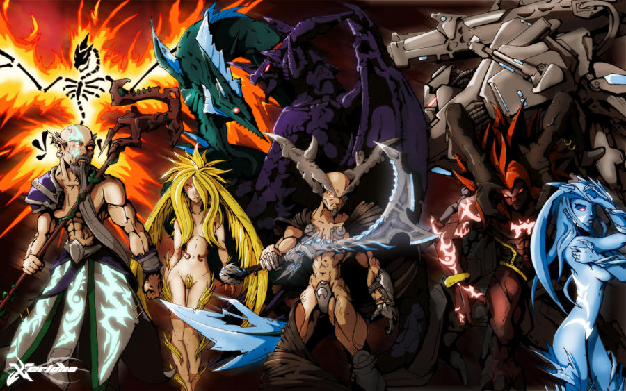 Final Fantasy Summons by xericho