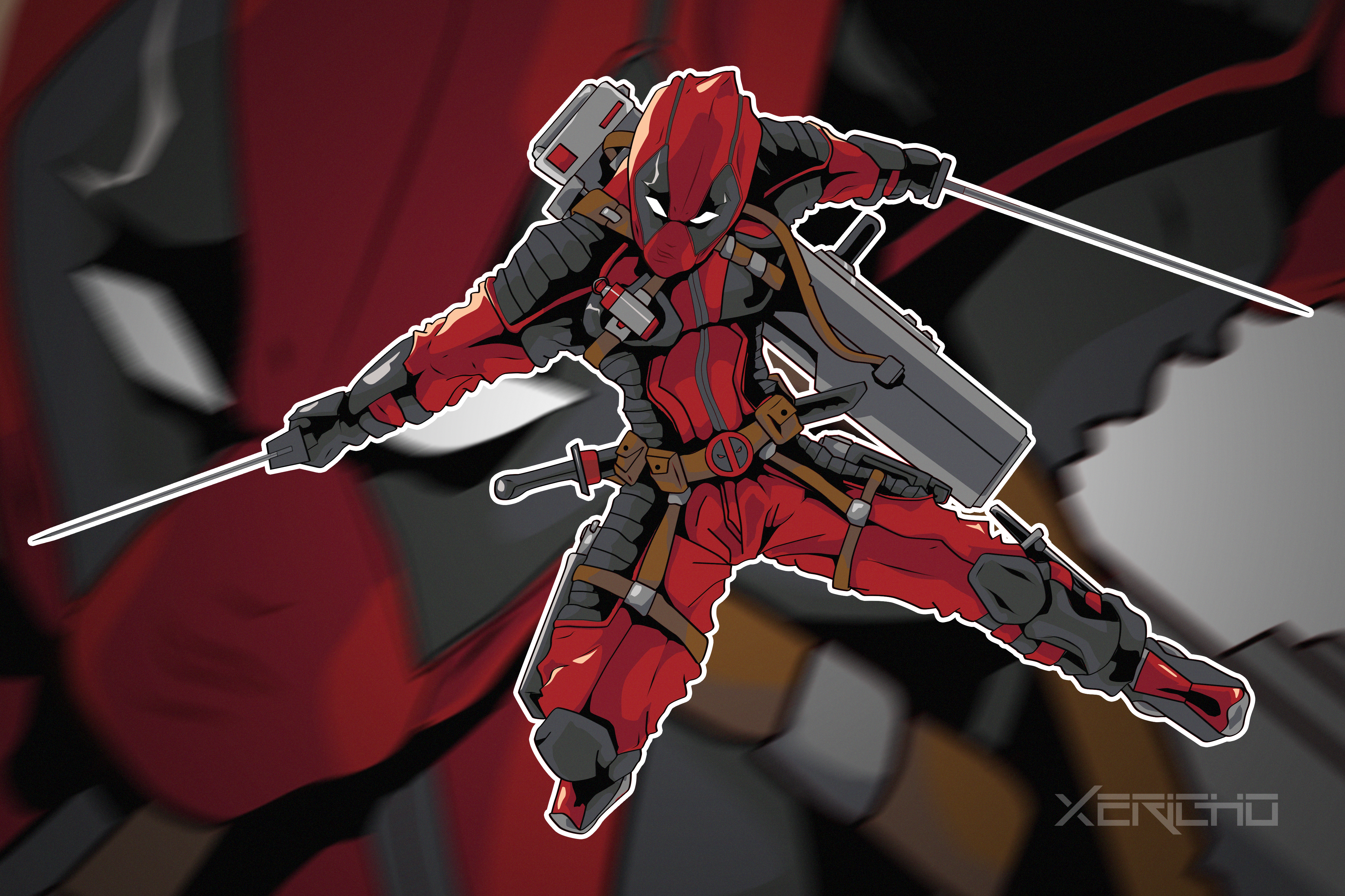 Urban Deadpool by xericho