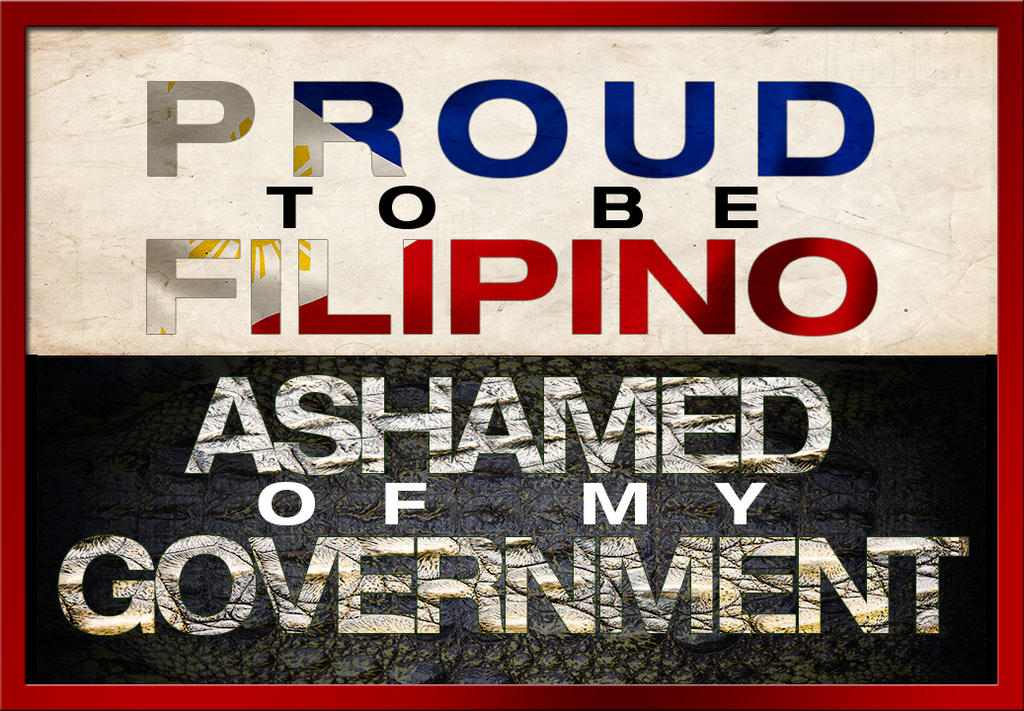 a proud filipino american Filipinos are not perfect, but we have great characteristics and qualities every  one of us should be proud of below i've listed some of the most.