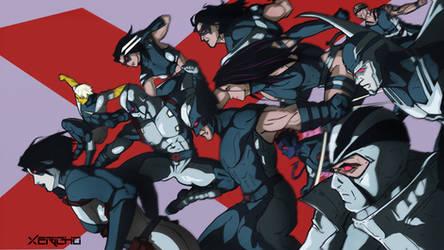 Uncanny X-Force by xericho