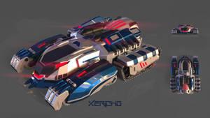 ThunderTank Concept by xericho