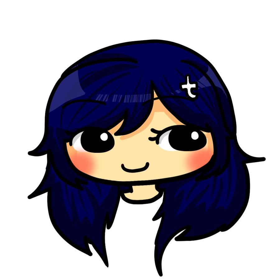 Tumblr-chan Doodle by GreenBaka on DeviantArt