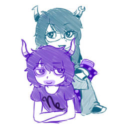 Vriska and Gamzee