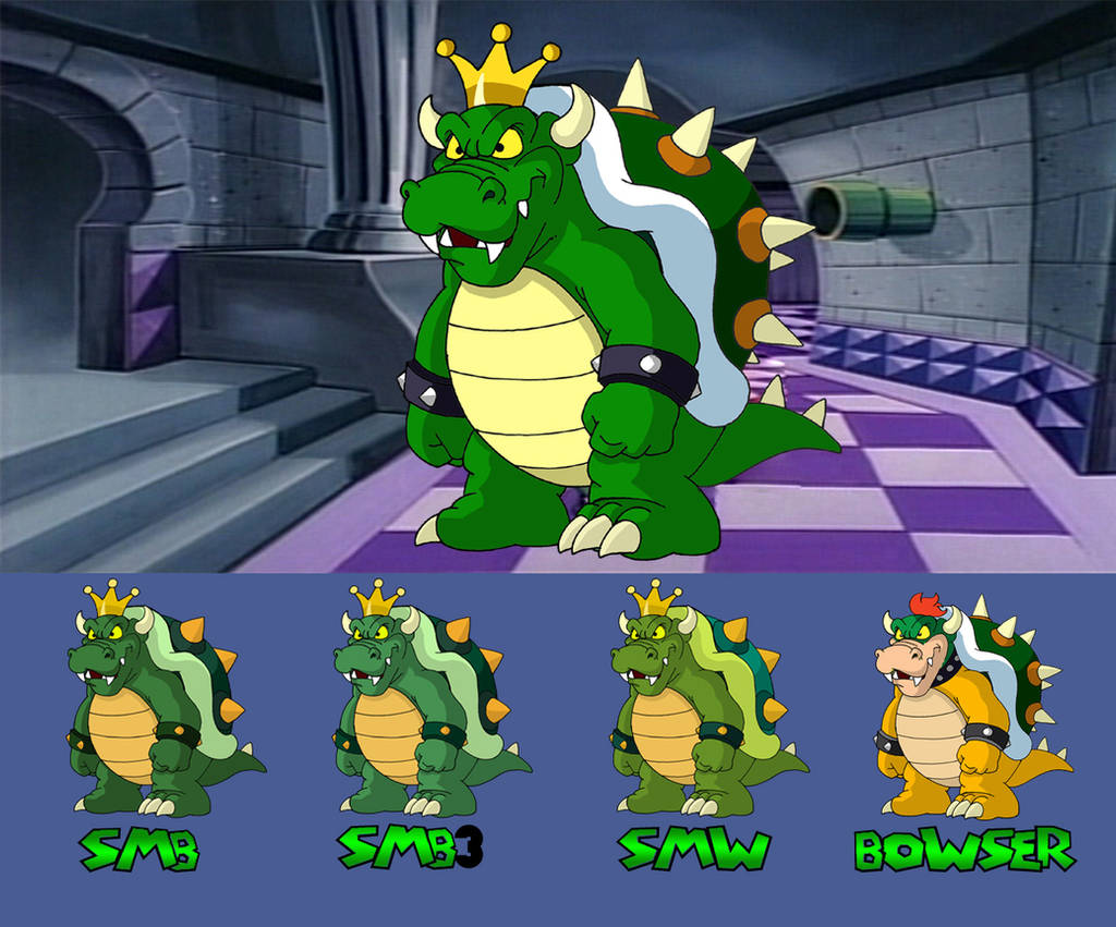 King Koopa Through the Years by BenjaminTDickens
