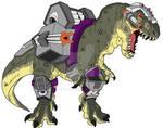 Dino-Riders T-Rex