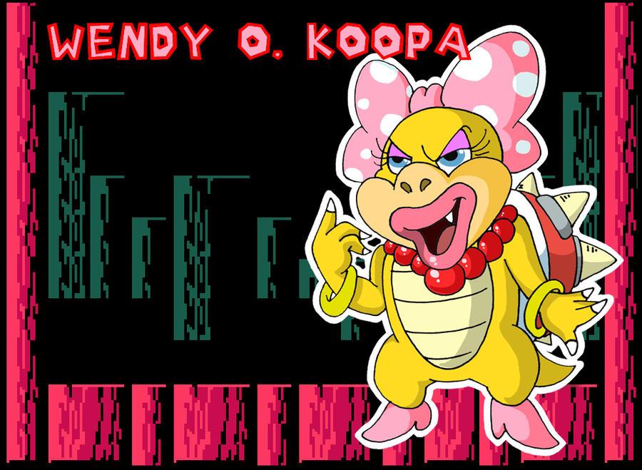Wendy O. Koopa by BenjaminTDickens