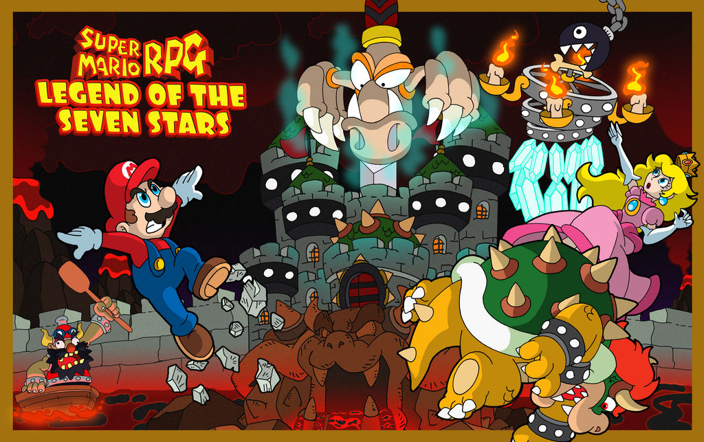 Super Mario Rpg Attack On Bowser S Keep By Benjamintdickens On