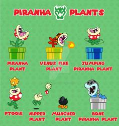 Super Mario Bros. Piranha Plants