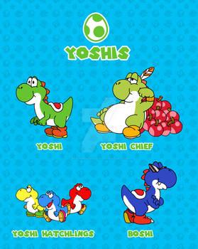 Super Mario Bros. Yoshis