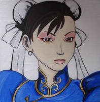 Chun Li Painted by SamiEggPower
